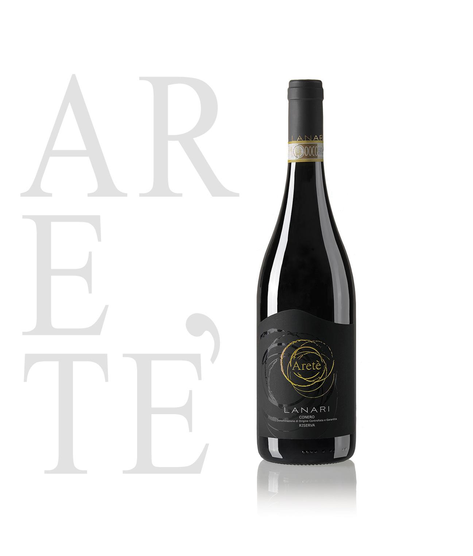 CONERO ARETÈ RISERVA 2016. Massimo riconoscimento delle QUATTRO VITI nella sesta edizione della Guida ai Vini d'Italia VITAE, edita dall'Associazione Italiana Sommelier.