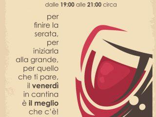 """ROSSOLANARI il Venerdì IN CANTINA...anche con """"L' APERICENA con DELITTO!"""